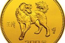 1982年狗年生肖金币收藏价值分析,狗年生肖金币发行介绍
