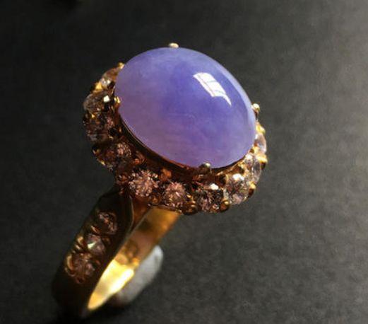 紫罗兰翡翠戒指有什么特点特征  紫罗兰翡翠戒指一般是多少钱