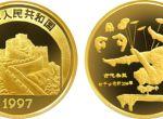 第二组中国传统文化杂技1/10盎司金币市场行情好吗