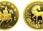 1994年版中美吉祥物麒麟1/4盎司金币升值空间大不大