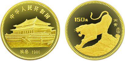 1986年生肖虎年8g金币值得收藏投资吗