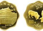 1995年梅花形生肖猪年1盎司金币市场走势怎么样