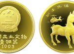 第三组出土文物(青铜器)铜牵马俑1/4盎司金币什么时候入手最合适收藏价值分析