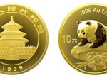 1999年熊猫1/10盎司金币适合作为投资金银币的第一选择吗  收藏价值分析