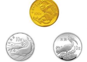 中国珍稀野生动物(第二组)金银币收藏价值分析