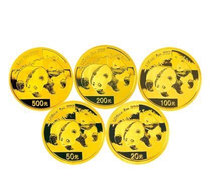 熊猫金币目前升值速度较慢,适合稳定收藏
