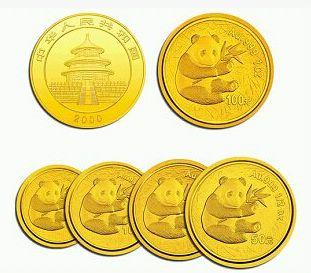 熊猫金币价格下跌较大,其它金银币品种影响相对较小