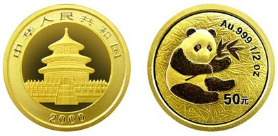 熊猫金币收藏价值高,如今正是投资最好时机