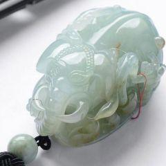 翡翠手把件正确保养清洗方法  翡翠手把件保养注意事项