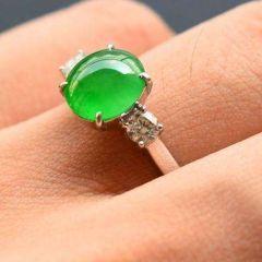 怎样清洗和保养翡翠戒指  翡翠戒指保养技巧