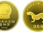 第二组出土文件(青铜器)虎符1/4盎司金币价格升值空间大不大