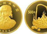 1997年中国近代国画大师齐白石大利图5盎司金币收藏价值分析