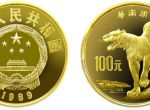 1989年第二组珍稀动物华南虎8g金币升值空间大不大