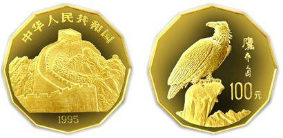 中国近代名画飞禽系列鹰1/2盎司金币收藏价值分析