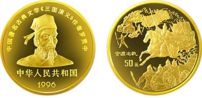 三国演义系列纪念币之官渡之战背后的历史意义让人记忆深刻