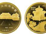 1997年北京故宫博物院御花园1/4盎司金币有什么收藏价值吗