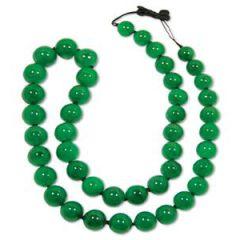 翡翠珠链颗数要戴多少颗比较好   翡翠珠链的寓意