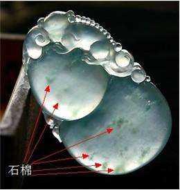 翡翠里的石棉长什么样子?石棉对翡翠的价值有影响吗?