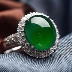 翡翠戒指鑲嵌工藝有幾種       翡翠戒指鑲嵌工藝類型