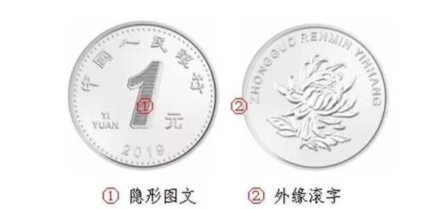 2019年1元硬币照片高清版本 2019年1元硬币如何防伪?