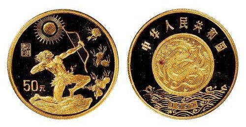 后羿射日金币设计特点有哪些?后羿射日金币市场行情如何?