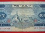 第二套人民币2元宝塔山