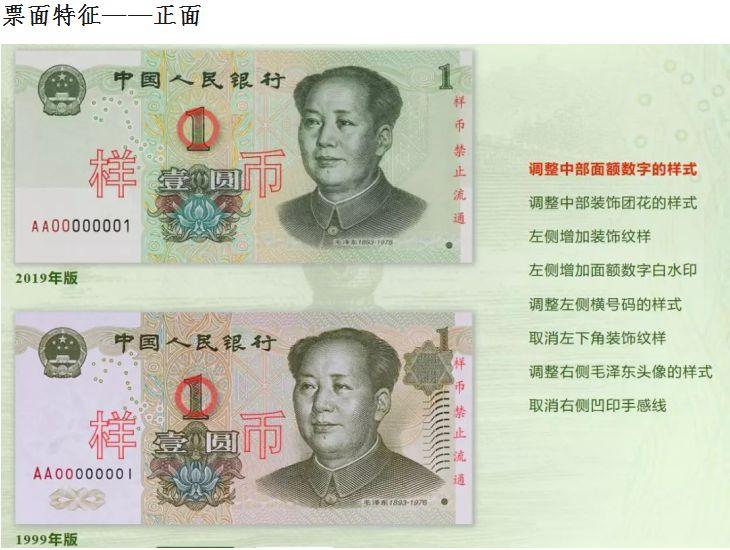 2019第五套人民币1元纸币防伪特征在哪里?看了就清楚了!
