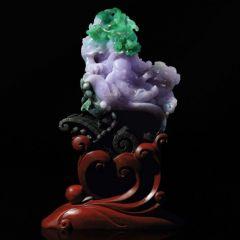 紫罗兰翡翠图片及介绍  紫罗兰翡翠选购方法大全