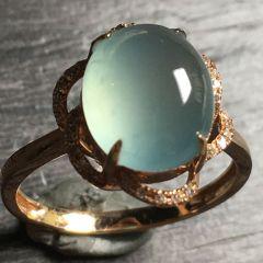 镶嵌式翡翠戒指清洗保养技巧  翡翠戒指如何搭配