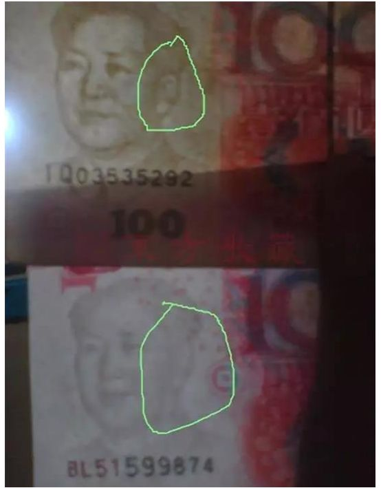 假币水印制作的辨别方法介绍