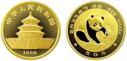 1/2盎司熊猫金币1988年版收藏价值分析  是否值得收藏