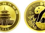 1/10盎司熊猫金币1993年版适不适合入手