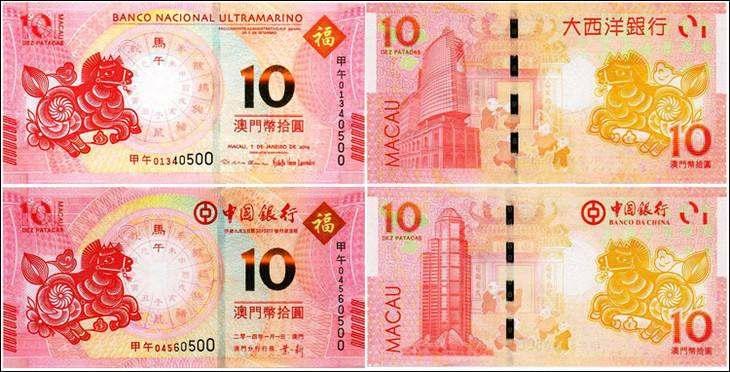 2014澳门生肖马年纪念钞后三同价格值多少钱?澳门生肖马钞市场价值分析