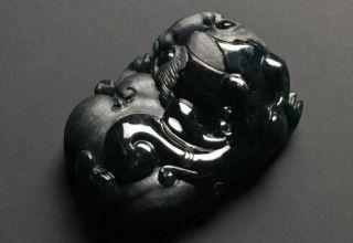黑翡翠和墨翠有什么区别吗    四个方面可以鉴别两者的区别