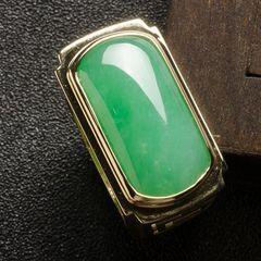 翡翠马鞍戒指寓意究竟是什么  挑选翡翠马鞍戒指要注意什么