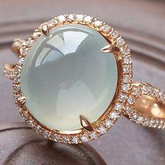 選購鑲嵌翡翠戒指注意事項  翡翠戒指收藏知識