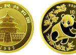 1/10盎司熊猫金币1992年版值得收藏吗    收藏价值分析