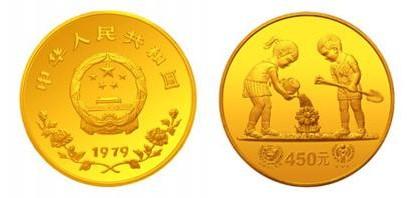 金银币市场中的稀有精品—79年国际儿童年纪念金币收藏价值分析