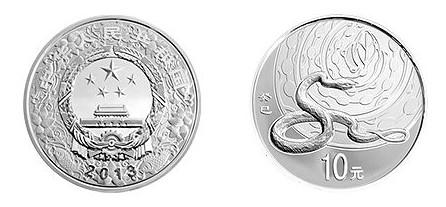 蛇年生肖金银币市场价格上涨,收藏价值高