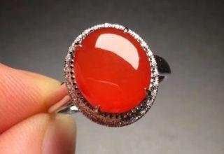 红翡翠戒指为什么行情冷淡呢  看完你就知道了