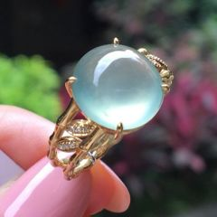 應該怎樣挑選男士翡翠戒指  翡翠戒指款式介紹