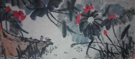 为什么学习国画要画荷花   画荷花国画的方法技巧