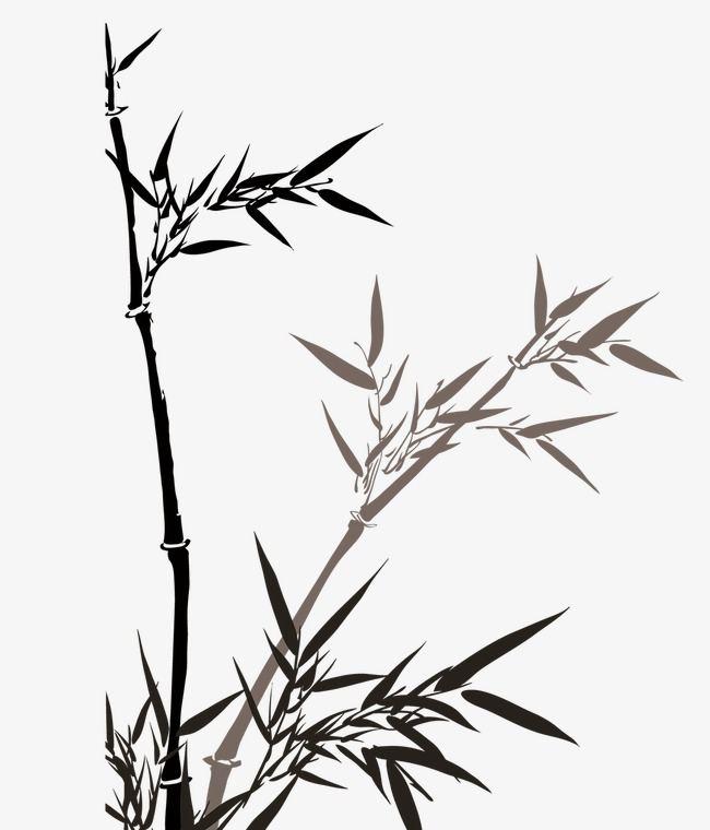 国画竹子有什么绘画技巧吗    国画竹子的用色技巧