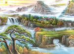 写意山水画如何构图   写意山水画的绘画技巧