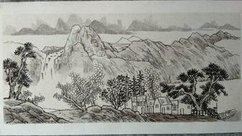 如何才能画好山水画   山水画的教程