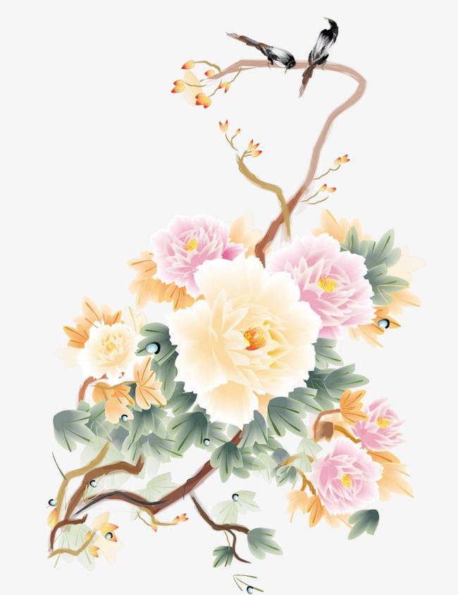 牡丹的花头要怎么画   国画牡丹的绘画技巧