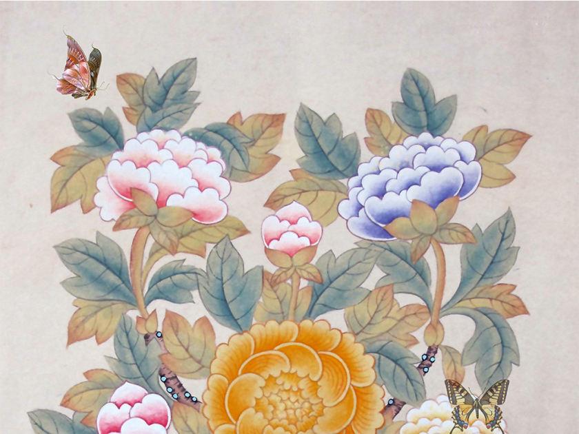 初学者怎么处理牡丹画的笔墨问题     牡丹叶子的绘画技巧