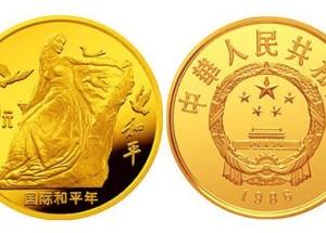 国际和平年金币价格趋势怎么样?值不值得收藏?