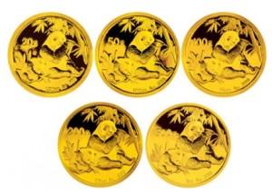 2007年熊猫金币套装收藏价值怎么样?发展前景好吗?