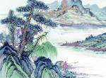 山水国画有多少种画法     山水国画构图技巧